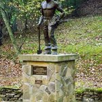 Statue honoring the Civilian Conservation Corps