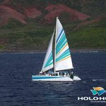  Leila, 50 foot powered sailing catamaran