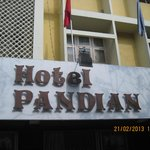  Hotel Pandian Front View