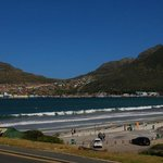 Beach and Parking area of Hout Bay
