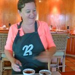 Mayan Chocolate Pudding Chef demo
