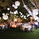 The Billi can be hired out as a private resort for weddings and events