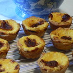 Try our Pasties de Belem,Portugese custard  tartlets.         tard