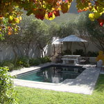 Hermanus Lodge Pool Area - Autumn