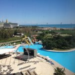  Sideways sea/pool view from Superior Double Room 5th floor