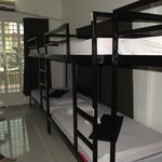 The 10-bed dorm