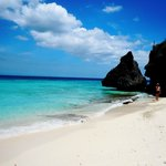 Nice white sand beach and turquoise water