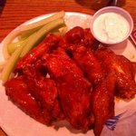 bone in HOT wings!!