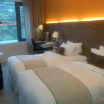 Ample and well provided rooms