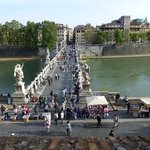 Across the bridge from Sweet Stay in Rome. Many areas within easy walking distance. The hop-on h