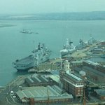  View from the Spinnaker Tower in the Quay