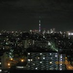 View of Tokyo Sky Tree from our room.