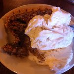  Jack Daniels Pecan Pie with ice cream!