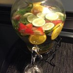 Love their citrus/fruit infused water throughout the hotel