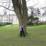  Me in the lovely grounds with the hotel in the background