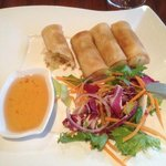  Veg spring rolls
