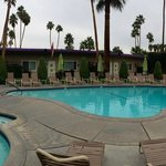 Our beautiful courtyard and pool
