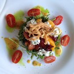  Argula Salad with Goat Cheese