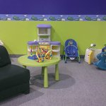 Toddler and Infant area
