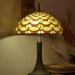  Tiffany Style Lamp in the dining room