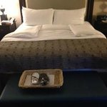 turn down service and slippers