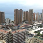  View across Benidorm