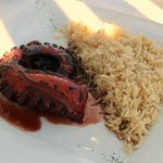 wine octopus, yummy with the rice