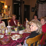  Ladies group enjoying and evening