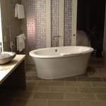 The jacuzzi tub in the master bathroom (Panorama Suite)