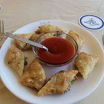  Delicous spring rolls at the rooftop restaurant