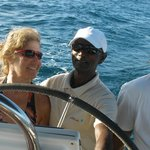  A day on the Coin de Mire yacht with Pravind and Ravin.