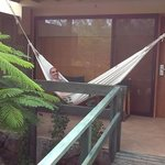 the hammock was the greatest place to relax