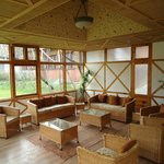 Business centre with High speed Wifi for deluxe / hut guests