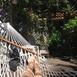  My personal favorite, the hammock :)