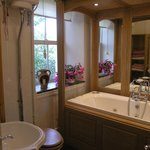 House bathroom with spa bath