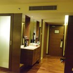  Bathroom and Entrance and tea &amp; coffee facilities