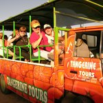 we are having a great time!  Tangerine Tours- best time ever.Island tours. Beach excursions, His