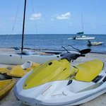 water sports at Imperial las perlas cancun