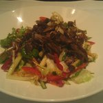 Sticky Shredded Duck Salad
