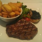 Char-Grilled 8oz Rib-eye Steak