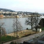 View of the Rhine from the room