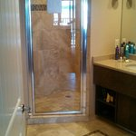 King suite shower