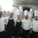 Super Chef Adil and his team