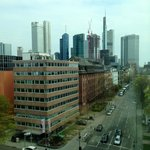  The view over downtown Frankfurt