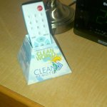 guaranteed clean remote!