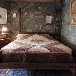 You can be sure of sweet dreams in our beautiful antique bed
