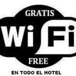  Wifi Gratis en todo el hotel