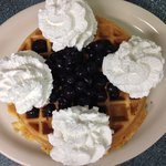 Did I mention the antioxident waffle?
