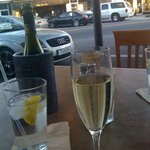 Sunday afternoon champagne in Avondale