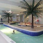 The indoor lazy river